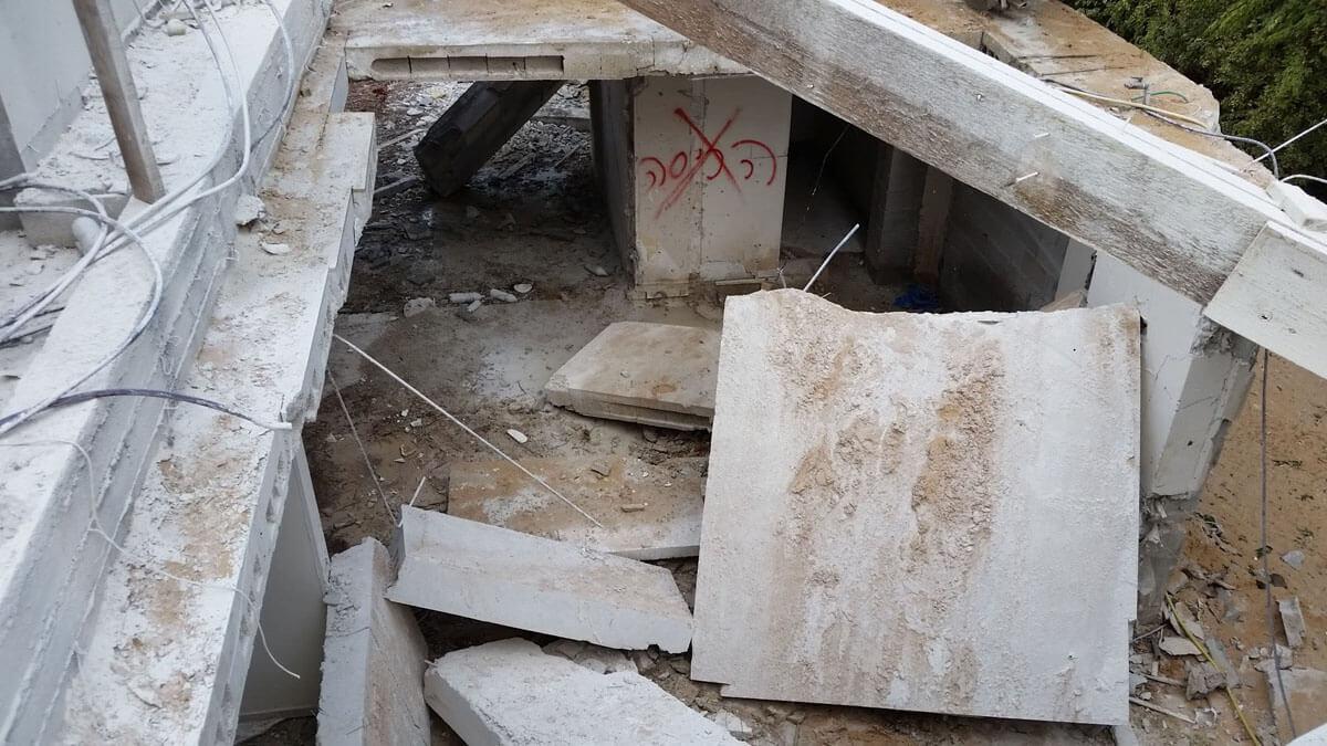 הריסת מבנים בקרית גת